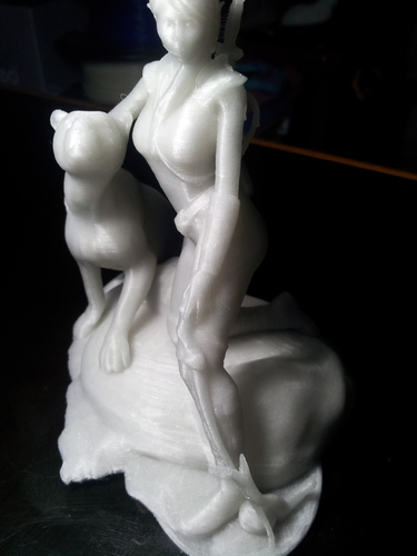 The Huntress v1.2 3D Print 6536