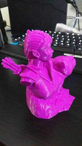 Bust - The Huntress v1.2 3D Print 6566
