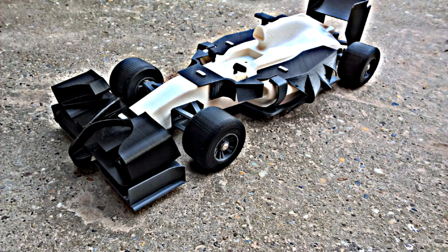 open R/C F1 body kit 2 3D Print 6621