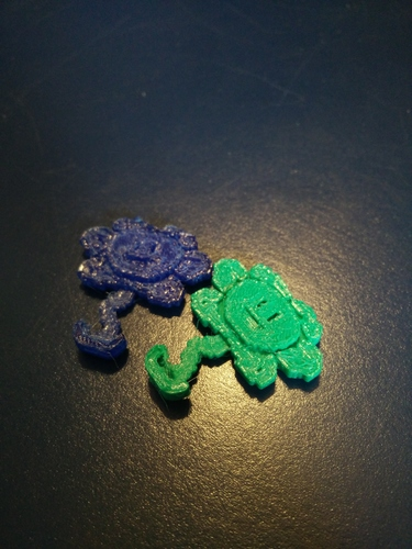 Flowey the Flower 3D Print 6631