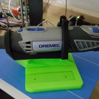 Small Support for Dremel 4000 3D Printing 6769