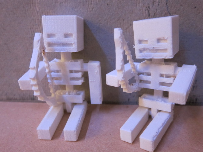Minecraft Skeleton Toy 3D Print 681