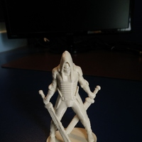 Small Faceless V2 3D Printing 6848