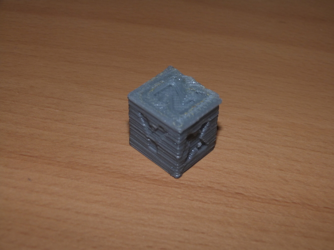 XYZ 20mm Calibration Cube 3D Print 6879