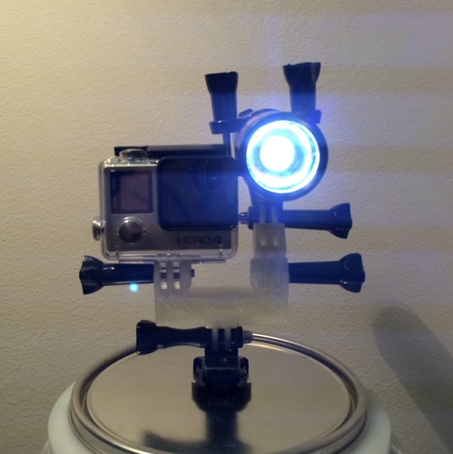 Gopro Y adapter 3D Print 6903