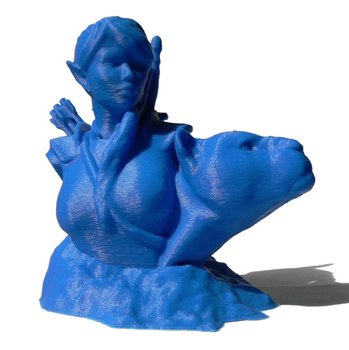Bust - The Huntress v1.2 3D Print 691