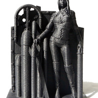 Small Steampunk Lady : Lenora 3D Printing 693