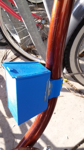 Bike storage container 3D Print 6954