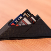 Small SD Card Mountain 3D Printing 6969