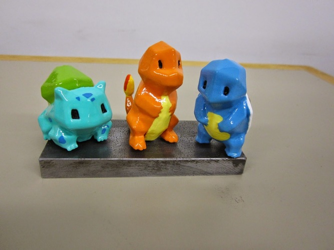 Low Poly Pokemon  3D Print 6983