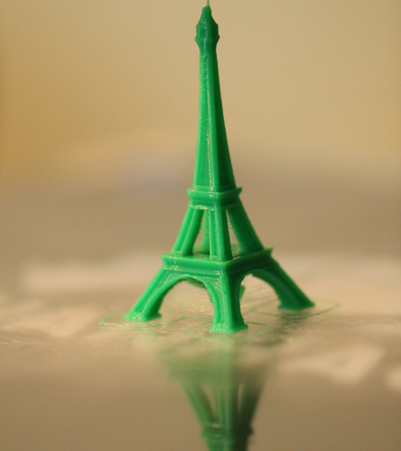 The Eiffel Tower Miniature 3D Print 7013