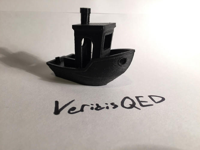 #3DBenchy - The jolly 3D printing torture-test 3D Print 7071