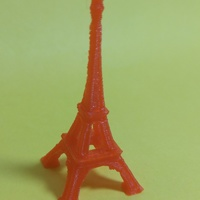 Small The Eiffel Tower Miniature 3D Printing 7078