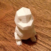 Small Low Poly Pokemon  3D Printing 7093