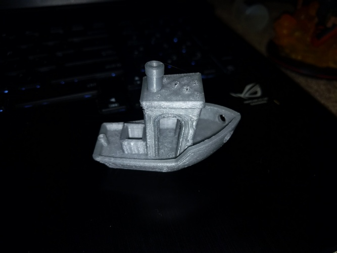 #3DBenchy - The jolly 3D printing torture-test 3D Print 7095