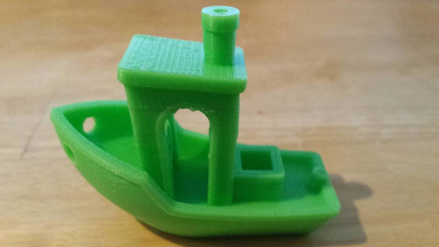 #3DBenchy - The jolly 3D printing torture-test 3D Print 7102
