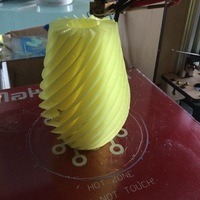 Small Wave Vase 3D Printing 7106