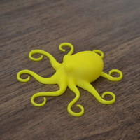 Small 3D Printed Octopuses for quality test [ size=50mm ] (1) 3D Printing 7123