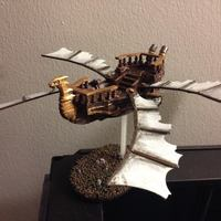 Small Flight of the Wind Dragon 3D Printing 7147