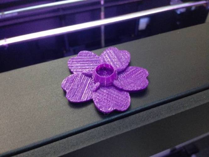 Forget Me Not 3D Print 7150