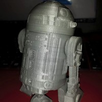Small R2D2 Salt and Pepper Shaker 3D Printing 7260