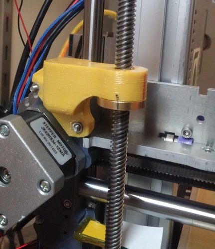 Ormerod 2 tr8 DirectDrive Z Axis Redesign 3D Print 7280
