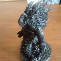 Small Aspect of Father Basilisk 3D Printing 733