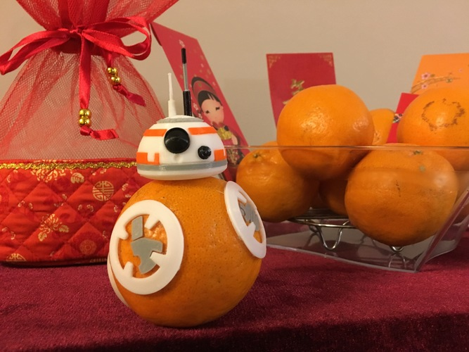 BB8 DROID - STAR WARS: THE FORCE AWAKENS 3D Print 7373