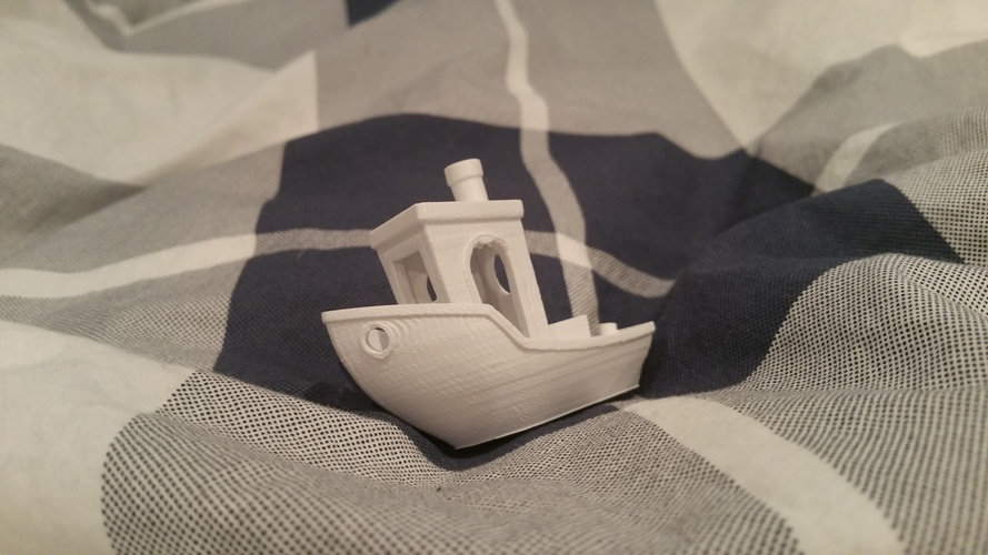 #3DBenchy - The jolly 3D printing torture-test 3D Print 7402