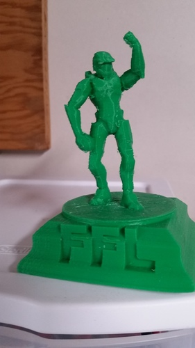 Halo Fantasy Football trophy 3D Print 7407