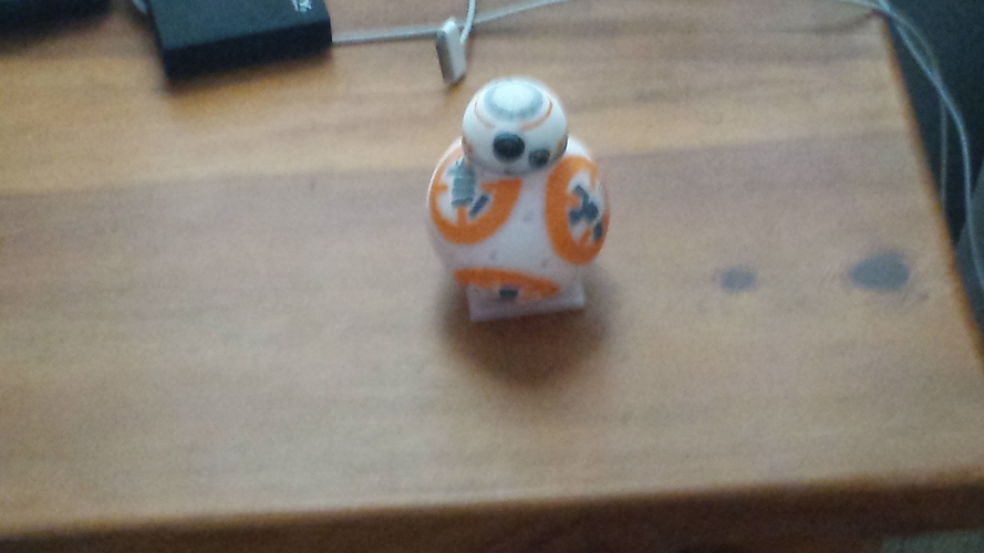 BB8 DROID - STAR WARS: THE FORCE AWAKENS 3D Print 7424