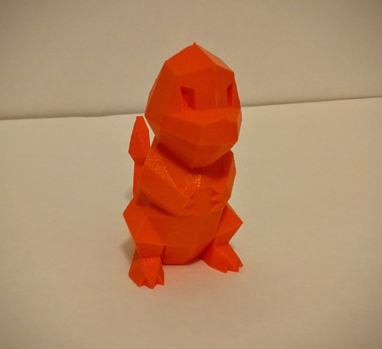 Low Poly Pokemon  3D Print 7425