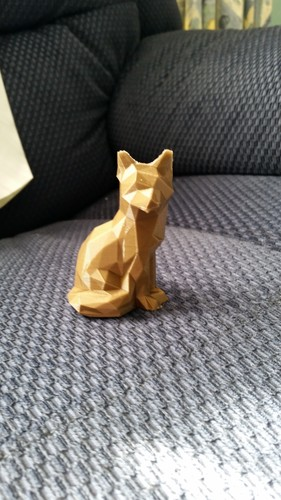 Low Poly Fox 3D Print 7445