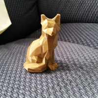 Small Low Poly Fox 3D Printing 7445