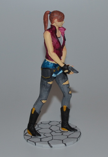 Claire Redfield - Resident Evil - Pose01 3D Print 7582