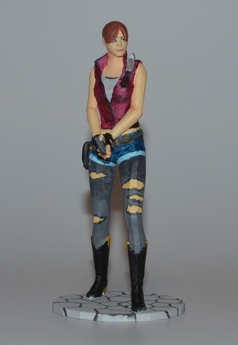 Claire Redfield - Resident Evil - Pose01 3D Print 7583