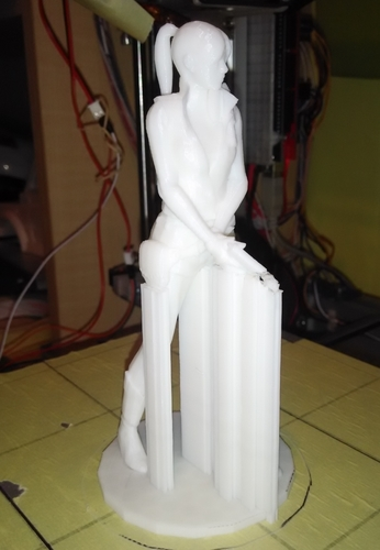 Claire Redfield - Resident Evil - Pose01 3D Print 7586