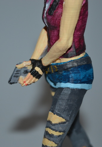 Claire Redfield - Resident Evil - Pose01 3D Print 7588