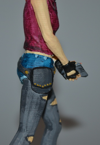 Claire Redfield - Resident Evil - Pose01 3D Print 7589
