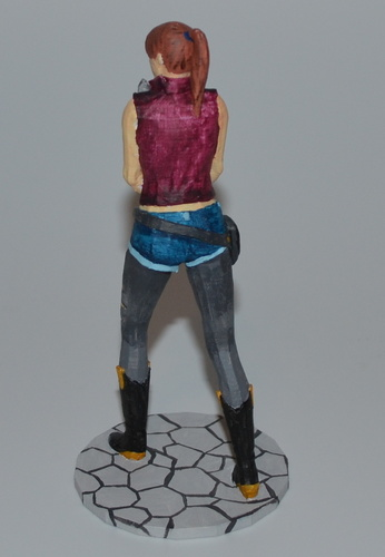 Claire Redfield - Resident Evil - Pose01 3D Print 7590