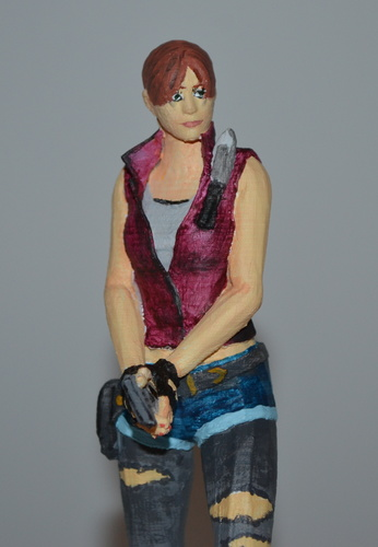 Claire Redfield - Resident Evil - Pose01 3D Print 7591