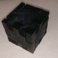 Small Ekobots - Wooden cube puzzle 3D Printing 7642