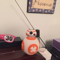 Small BB8 DROID - STAR WARS: THE FORCE AWAKENS 3D Printing 7663