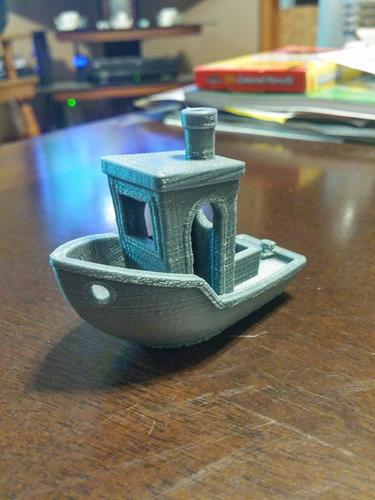 #3DBenchy - The jolly 3D printing torture-test 3D Print 7677