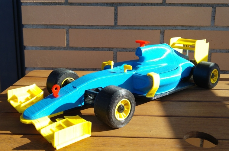 OpenRC F1 DRS system 3D Print 7689