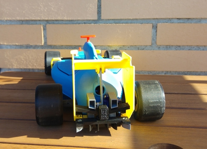OpenRC F1 DRS system 3D Print 7692