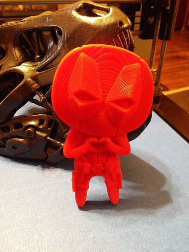 "Deadpool ""Feel The Love"" Magnet 3D Print 7746"