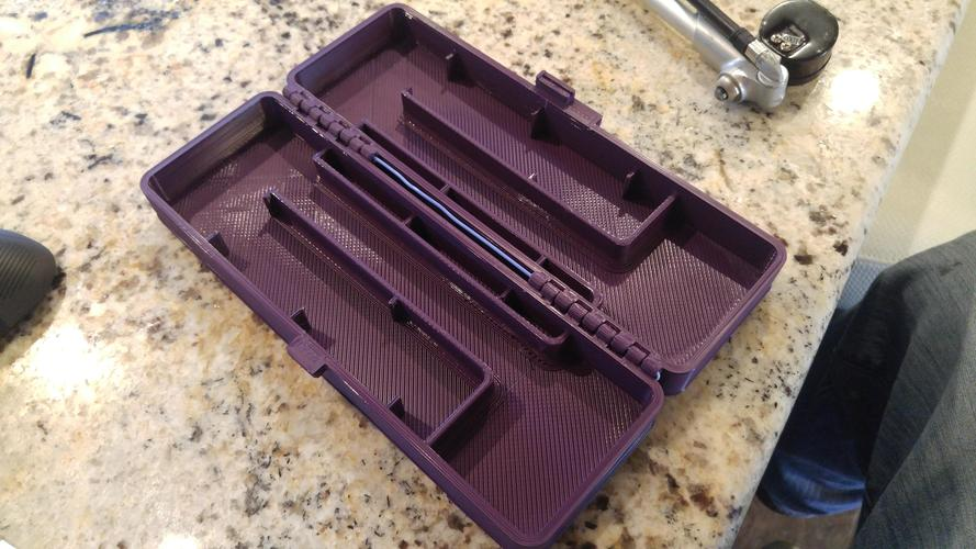 Fox shock pump case 3D Print 7784