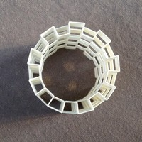 Small Es-Cage Tube (4 versions) 3D Printing 7808