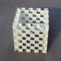 Small Es-Cage Cube (4 versions) 3D Printing 7810